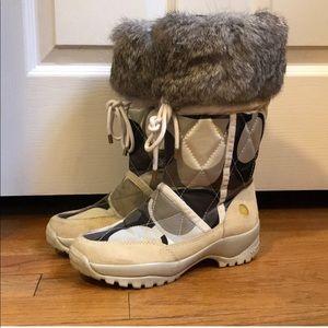 Coach Sasha Snowboots with Rabbit Fur